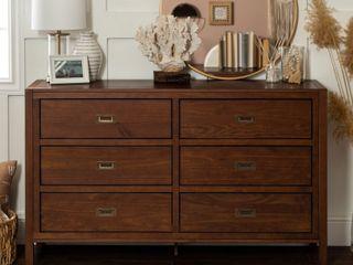 Carson Carrington Modern 6 Drawer Storage Dresser