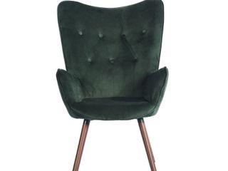 Carson Carrington Falltorp Velvet Tufted Chair