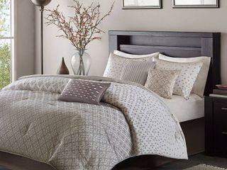 Madison Park Pensacola 7 Piece Comforter Set   Cali King