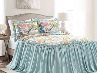 lush Decor Sydney 3 Piece Bedspread Set   King