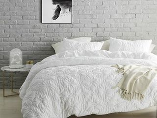 Farmhouse Morning Textured Bedding   Duvet Cover   King