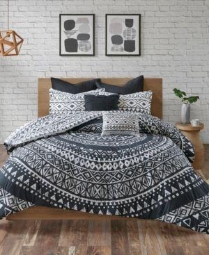 Urban Habitat Cora 7 Piece Cotton Reversible Comforter Set   King Cali King