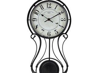 FirsTime   Co  Harwick Pendulum Wall Clock   9 1 x 2 36 x 20