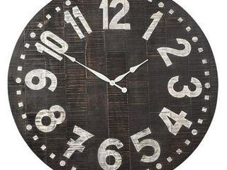 Signature Design by Ashley Brone Black White Wall Clock