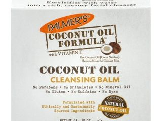 Palmer s Coconut Oil Formula Coconut Monoi Cleansing Balm 2 25 oz