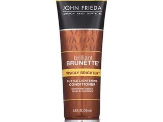 John Frieda Brilliant Brunette Visibly Brighter Conditioner   8 3oz