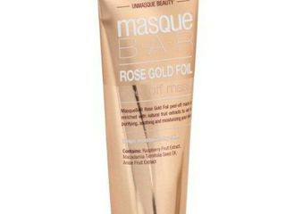 Unmasque Beauty Masque Bar Rose Gold Foil Peel Off Mask   Exp 2019