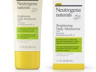 Neutrogena naturals Brightening Daily Moisturizer Broad Spectrum SPF 25   lOTION Exp 2019
