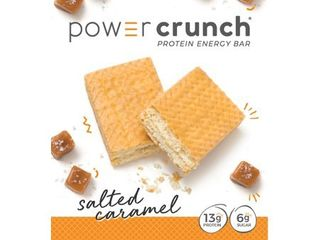 POWER CRUNCH SAlTED CARAMEl PROTEIN ENERGY BAR