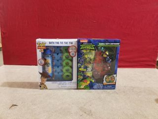 2 SETS OF KIDS BATH SETS