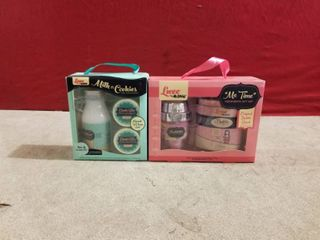 2 SETS OF lUXE BY MR BUBBlE GIFT SETS