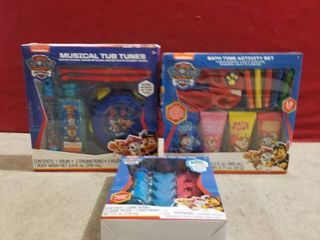 3 SETS OF KIDS BATH GIFT SETS