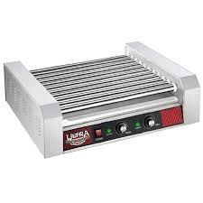 Great Northern Popcorn Commercial 30 Hot Dog 11 Roller Grilling Machine 1650W  Retail 201 49