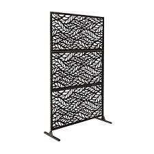 6ft x 4ft Free Standing laser Cut Metal Screen Panel Privacy Stand  Retail 269 49