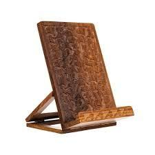 Handmade Balkuwari Tablet and Book Stand  India  as is