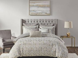 Madison Park Signature Sanctuary Comforter Set  Retail 289 99