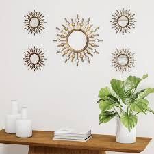 Carson Carrington Degerfors Two tone Bronze Burst Wall mirror