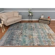 Noori Rug High low Westfield Teal Green Ivory Rug  Retail 404 49