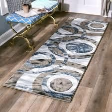 Orelsi Grey Brown Polyester Area Rug  Retail 107 49