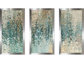 Mark lawrence  Romans 8 39 Max  Framed Plexiglass Wall Art Set of 3  Retail 238 49
