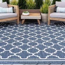 Alise Rugs Exo Transitional Geometric Indoor Outdoor Area Rug  Retail 144 49