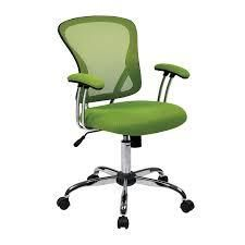 Porch   Den Globeville Chrome Mesh Vinyl Adjustable Tilt Tension Office Chair  Retail 153 49 green