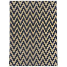 TWINE NAVY AND GOlD Area Rug By Kavka Designs
