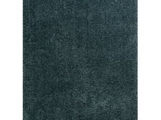United Weavers Columbia Shag Area Rug 2310 01030 Azul Teal Comfortable Plush 2 by 7 x 3 by 11
