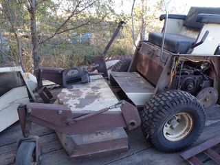 GRASSHOPPER MOWER HYDRO W/PARTS - NEEDS PUT BACK TOGETHER