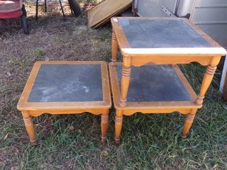 3   22 X 22 END TABlES