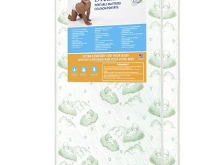 Dream On Me 3  Square Corner Playard Mattress  Foam