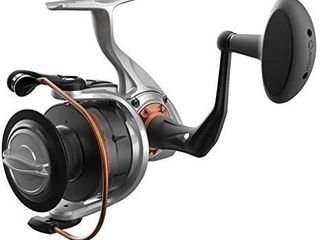 Quantum Reliance Spinning Fishing Reel  Durable Aluminum Body  Right or left Hand Retrieve with 6 Bearings  5   Continuous Anti Reverse Clutch  size 65