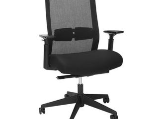 HON BASYX Biometryx Commercial Grade Task Chair  Office Chair  in Black  BSX155VA10T    Missing the bottom seat part