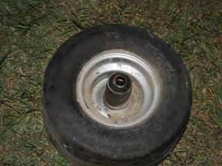 13 x 6 50   6NHS Tires With Rim   lawn Mower   ZTR   Deck Wheels