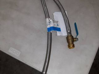 water heater connection set