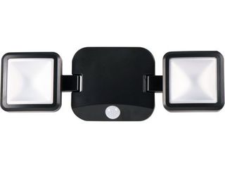 Energizer Battery Operated lED Dual Head Motion Sensing Security light  40776 S1  hardware not included