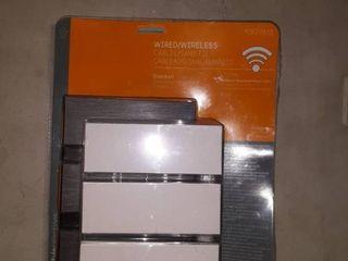 Open Boxwired wireless Doorbell Kit Bronze Finish Doorbell Style Selections