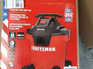 Craftsman 12 gallon wet dry vaccum
