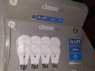 8 pack of classic lED lights