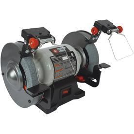 PORTER CABlE 6 in Bench Grinder with Built in light