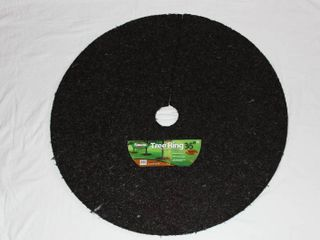 Rubberific 36 in Brown Recycled Rubber Tree Ring