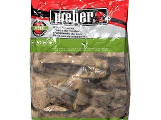 Weber Apple Wood Chunks  350 Cu  In  bag