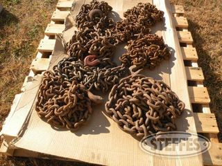Pallet of log chains 1 jpg