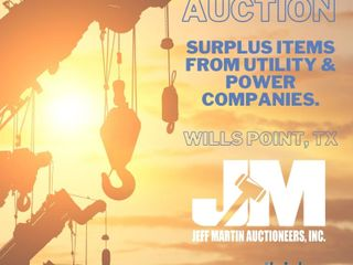 Online Auction Surplus Items from Utility & Power Companies