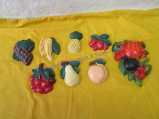 FRUIT WAll PlAQUES