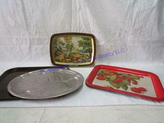 CURRIER   IVES TRAY