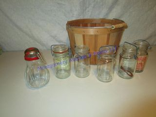 GlASSTOP JARS