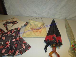UMBREllAS clothes pin bags