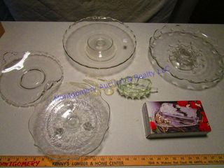 ClEAR SERVING DISHES