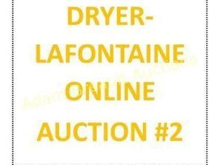 DRYER-LAFONTAINE ONLINE AUCTION #2